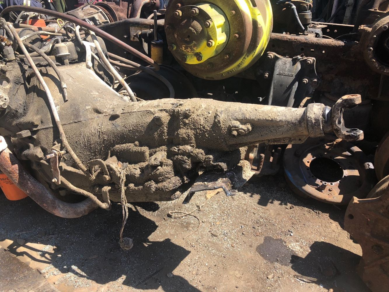 1986 Ford C6 Stock T Salvage 1657 Fotm 2141 Transmission Assys 20 July 2018 Image Subject To Change