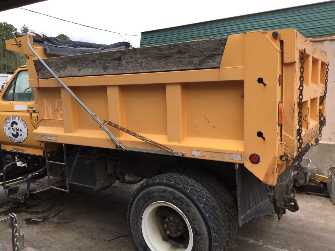 Dump Body Parts : Dump bodies stock t salvage db tpi