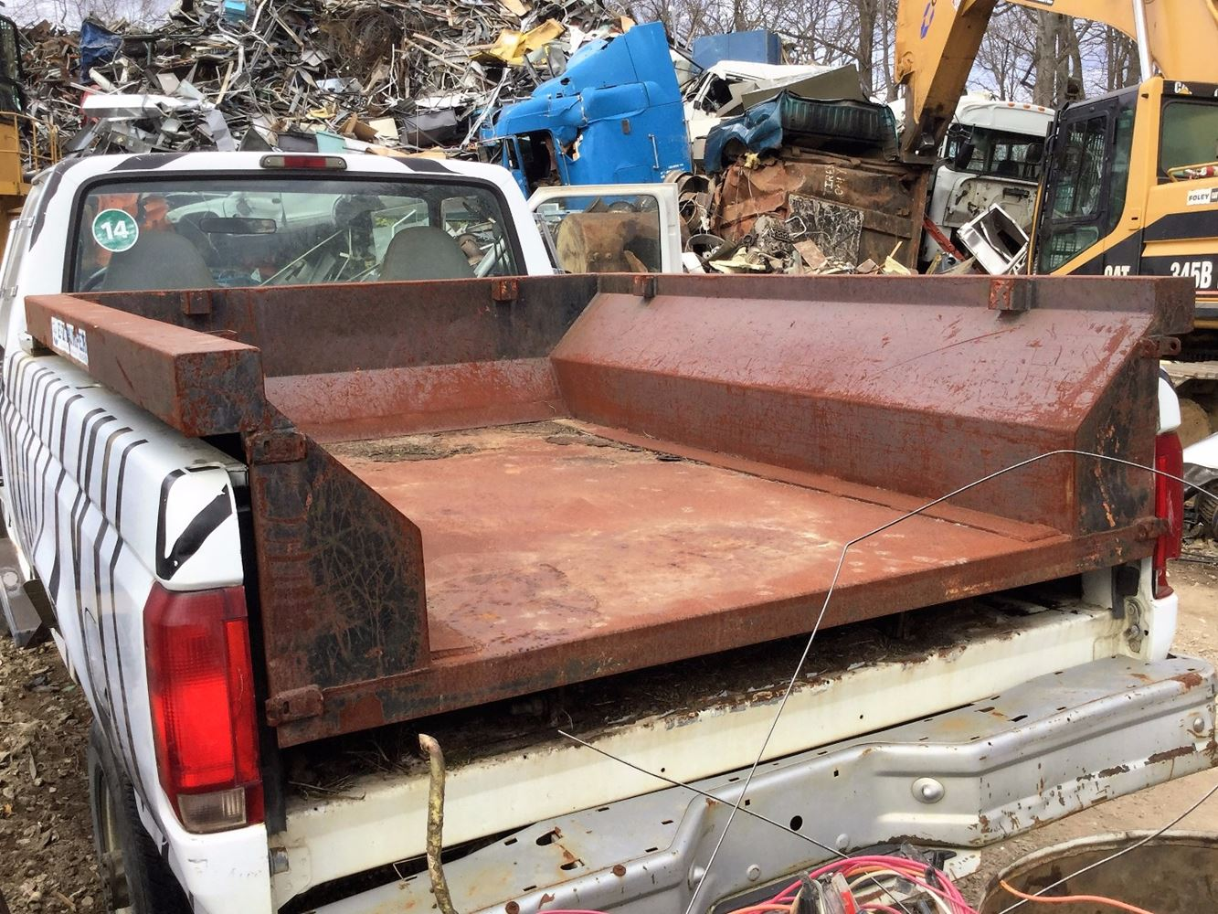 Dump Body Parts : Dump bodies ft stock t salvage db e tpi