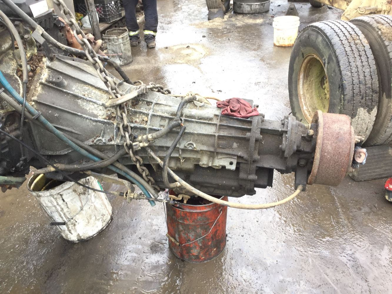 1996 ford transmission parts