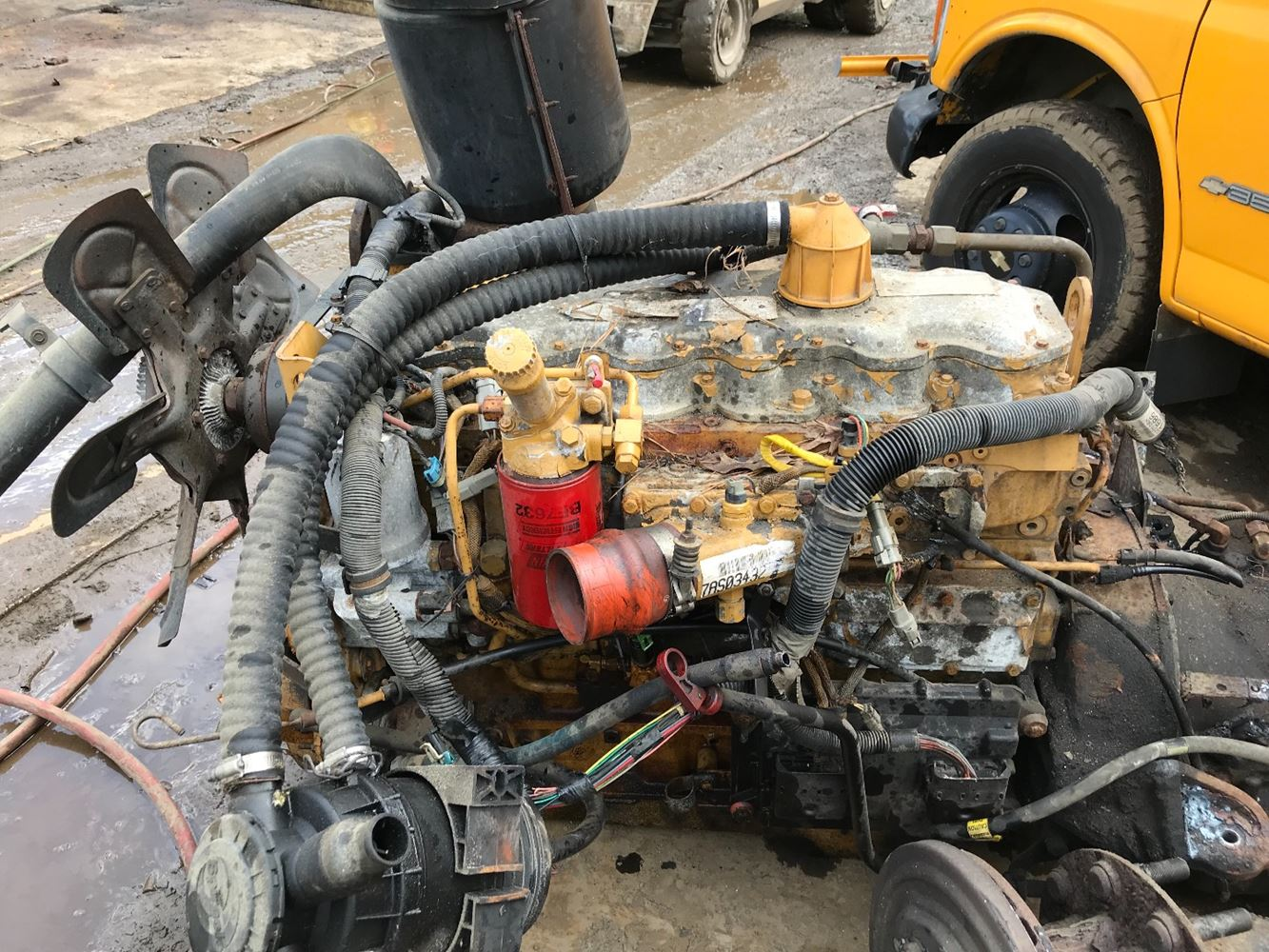 1998 Caterpillar 3126 Stock T Salvage 1673 Cat 2970 Tpi Fuel Filter Truck 14 August 2018 Image Subject To Change