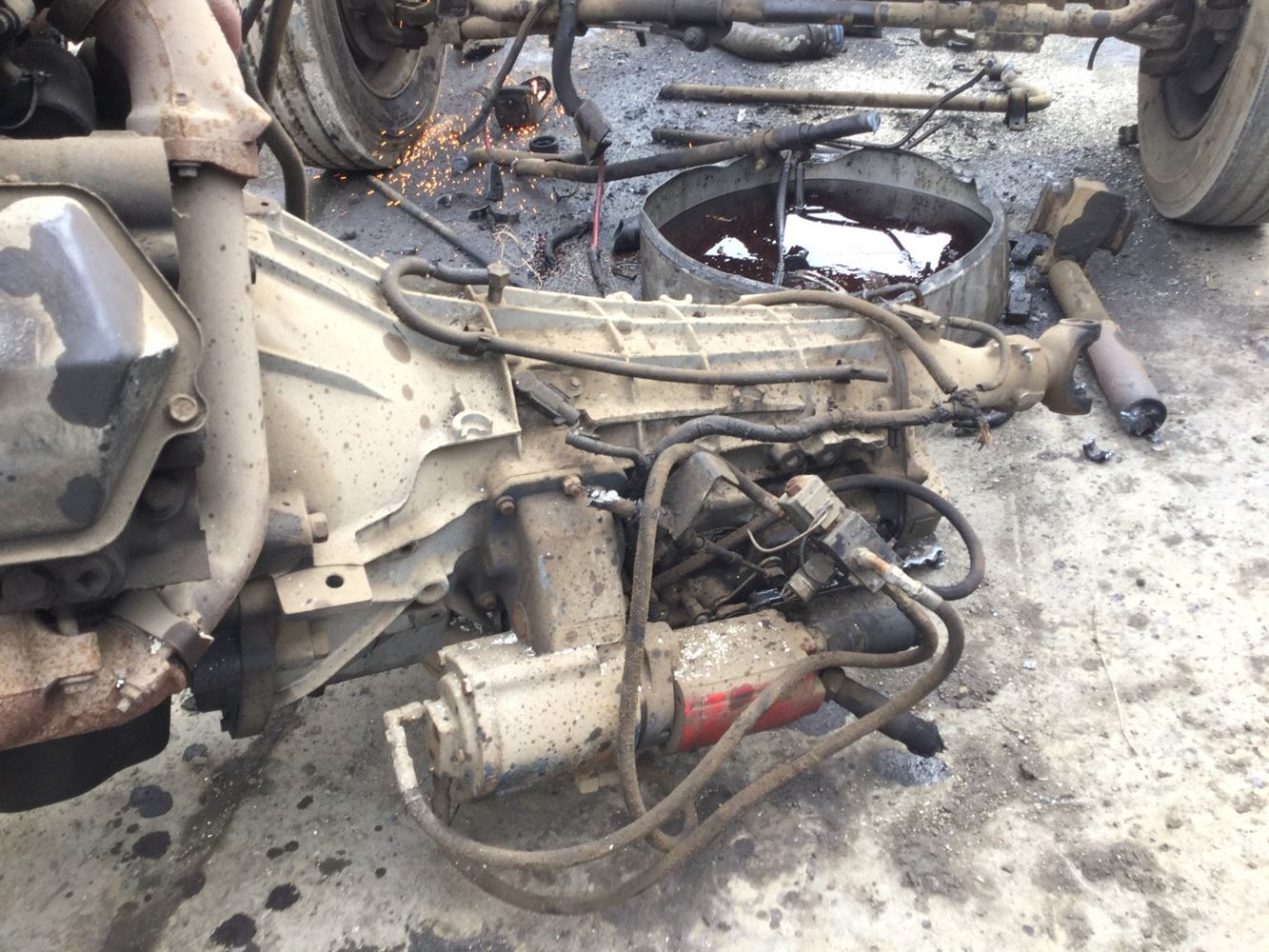 1999 Ford 4r100 Stock T Salvage 1540 Fotm 2059