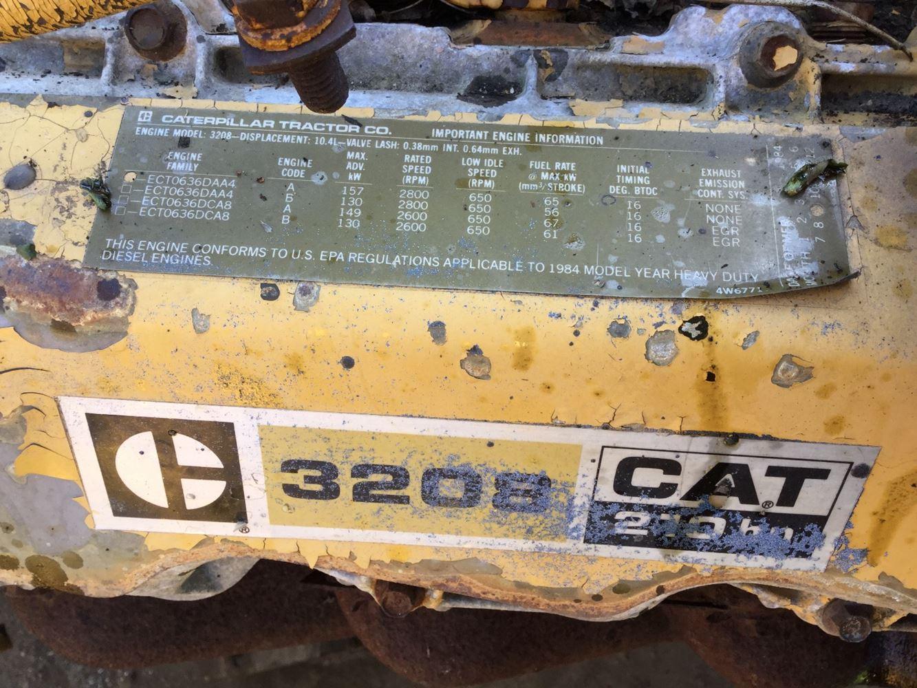 Caterpillar 3208 (Stock #CAT-2848) | Engine Assys | TPI