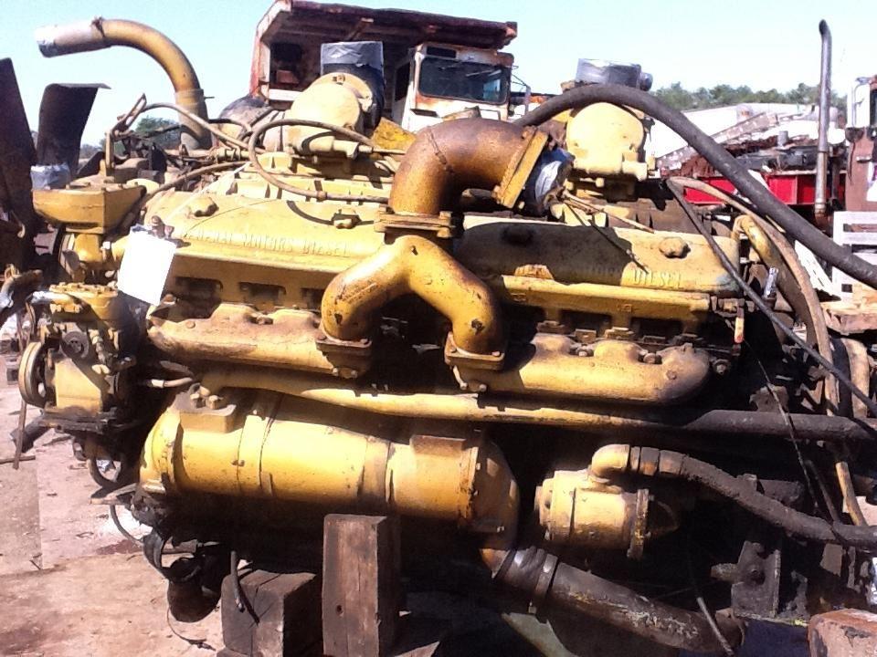 Detroit 16V71 (Stock #DE-184) | A & A TRUCK PARTS, INC