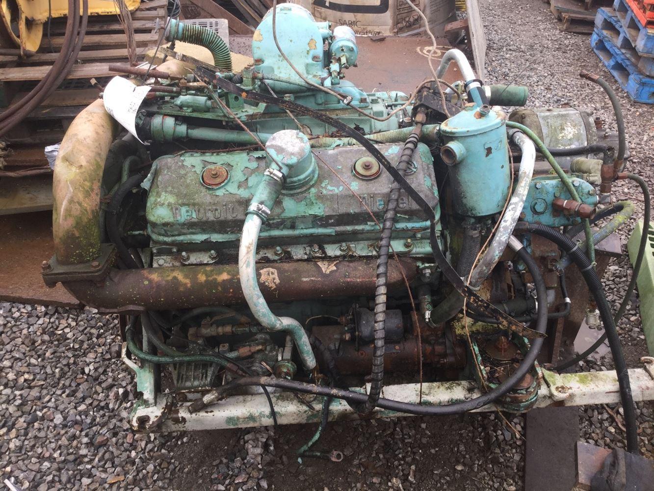 Detroit 8V71 (Stock #T-DE-2627) | Engine Assys | TPI