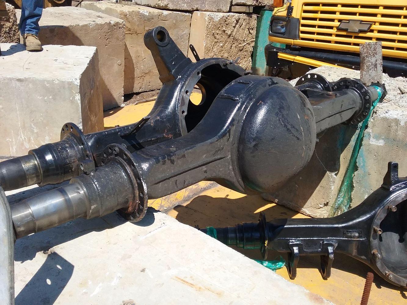 Eaton Axle Parts : Eaton rs stock er axle housings rear tpi