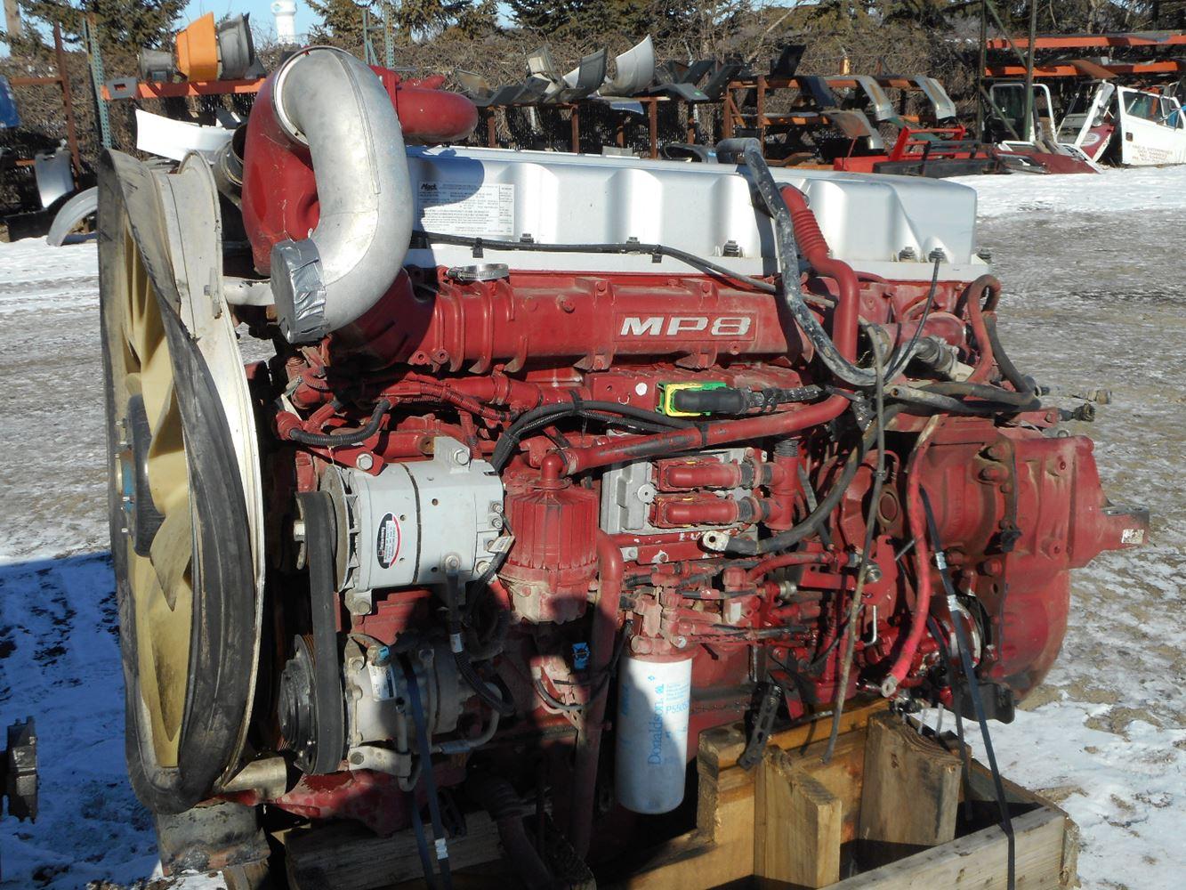 Mack camshaft Repair