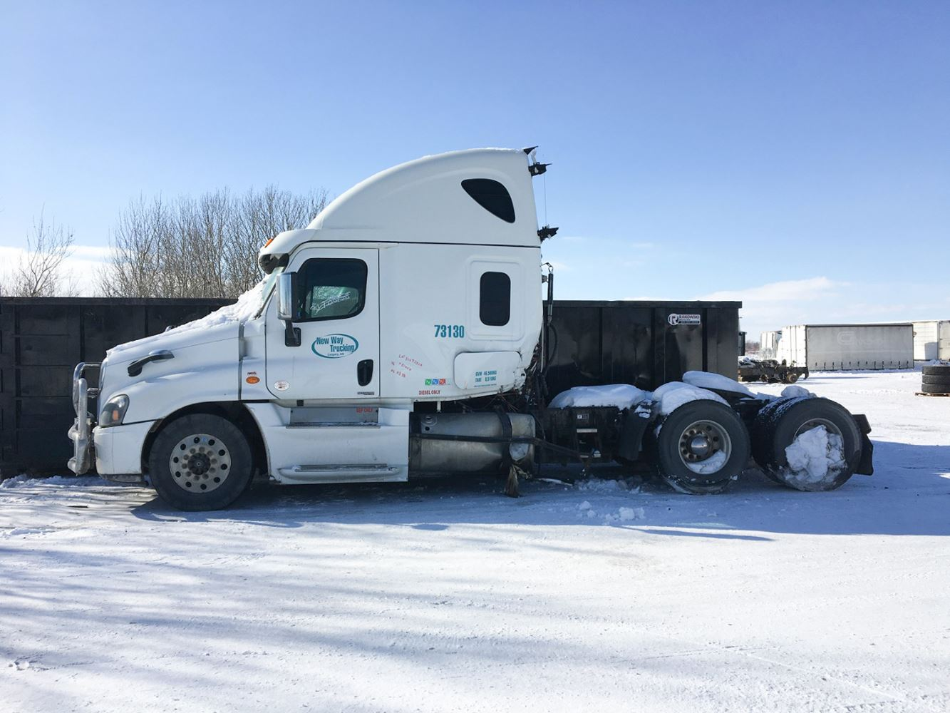 2015 Freightliner Cascadia Evolution   TPI