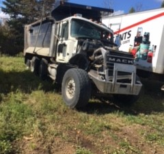 Mack CV713 Granite - Salvage 2154