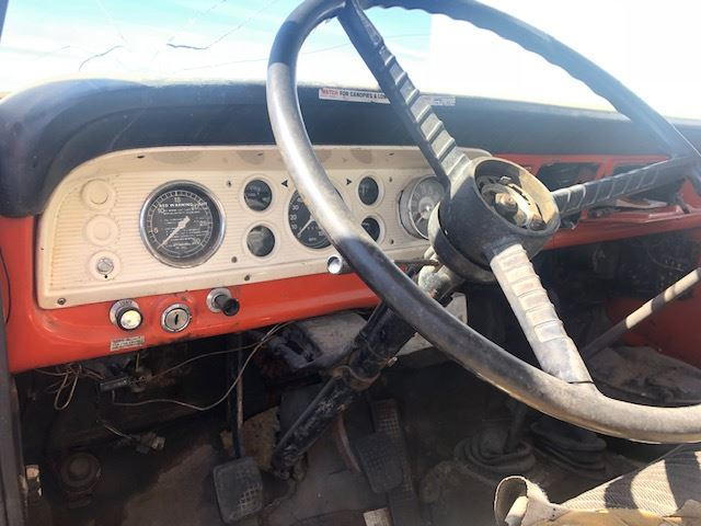 1970 Ford F600 (Stock #30619-1) F Steering Column Wiring Harness on