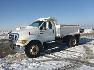 Ford F-650 - Salvage 121219