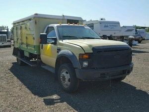 Ford F-550 - Salvage 72717