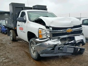 Salvage Heavy Duty Chevrolet Trucks Tpi