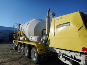 Advance Cement Mixer - Salvage 012098