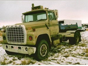 Ford 8000 - Salvage 1672-FORD