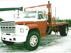 Ford F800 - Salvage 2237-FORD
