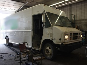 Freightliner MT55 Chassis - Salvage 3379-FRTLR