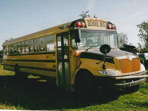 International 3800 SCHOOL BUS - Salvage 3168-IHC