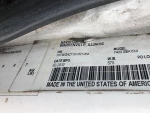 International WorkStar 7400 - Salvage PP0852