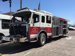 American La France Eagle Fire Pumper Truck - Salvage SV-1389
