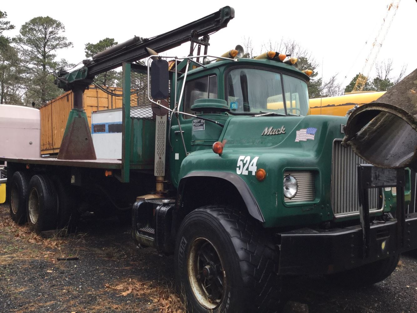 1985 Mack Truck : Mack dm sx tpi