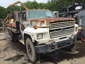 Ford F600 - Salvage T-SALVAGE-1852