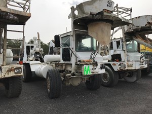 Advance Cement Mixer - Salvage T-SALVAGE-1562