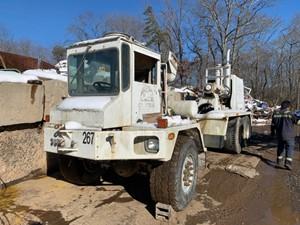 Advance Cement Mixer - Salvage T-SALVAGE-2222