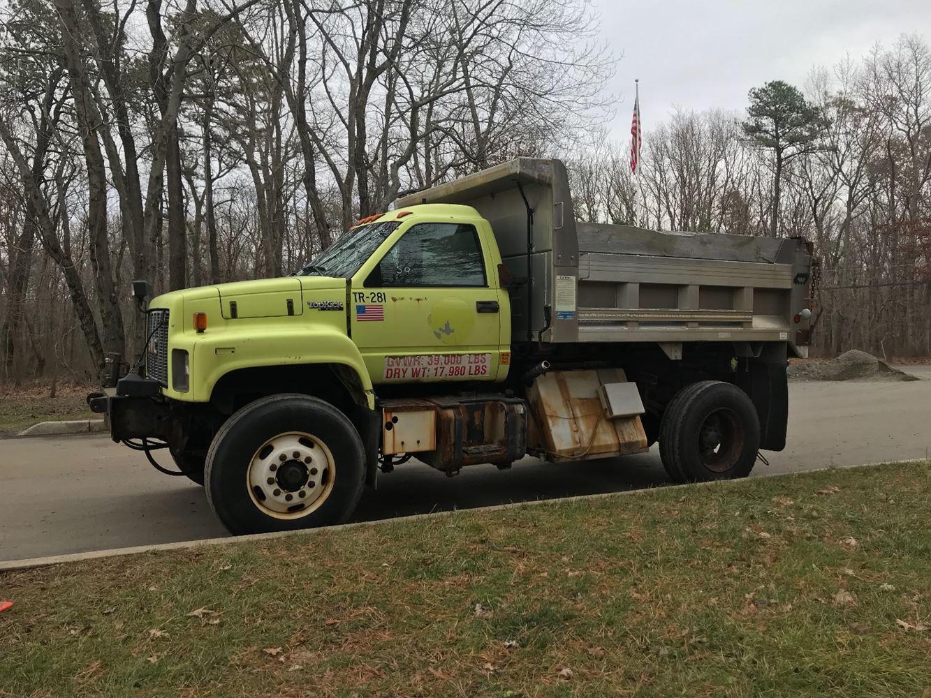 1995 Gmc C7000 Topkick Tpi Chevy Kodiak Dump Truck 30 November 2018 Image Subject To Change