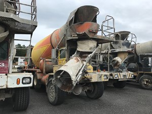 Advance Cement Mixer - Salvage T-SALVAGE-1629