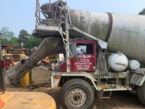 Advance Cement Mixer - Salvage T-SALVAGE-2402