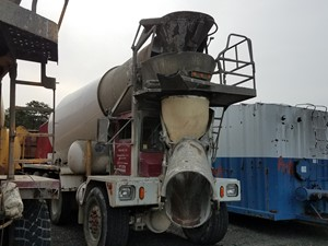 Advance Cement Mixer - Salvage T-SALVAGE-1593