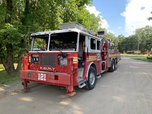 Aerialscope Fire Truck - Salvage T-SALVAGE-2934