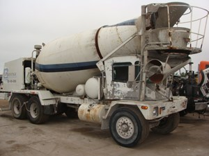 Advance Cement Mixer - Salvage 8